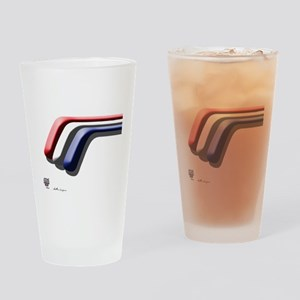 Mustang Deluxe 2 Sides Drinking Glass