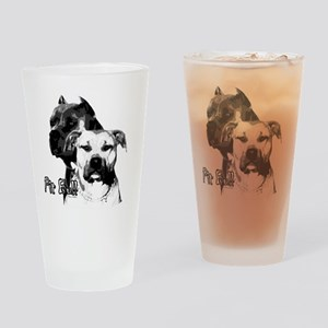 Two tone bully design Drinking Glass