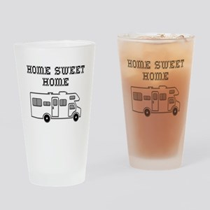 Home Sweet Home Mini Motorhome Pint Glass