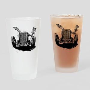 No Trespassing Drinking Glass
