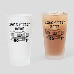 Home Sweet Home Motorhome Drinking Glass