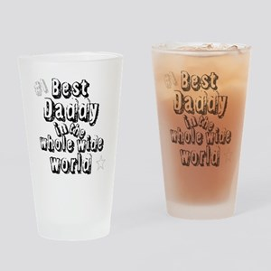 Best Daddy Drinking Glass