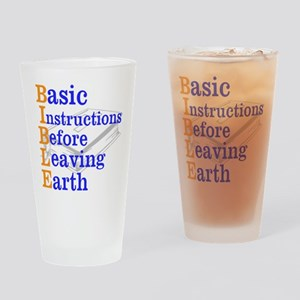 BIBLE Drinking Glass