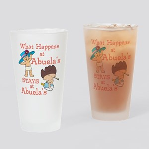 What Happens at Abuela's Drinking Glass