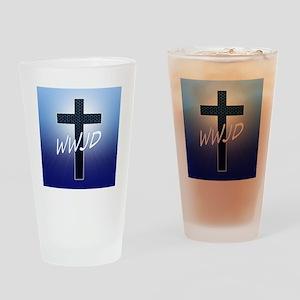 WWJD Drinking Glass