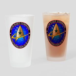 Star Fleet Command Drinking Glass