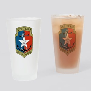 USS Texas (CGN 39) Drinking Glass