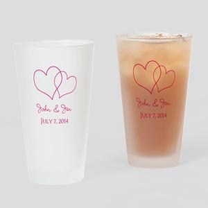 Custom Wedding Favor Drinking Glass