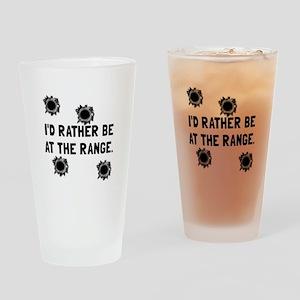 Gun Range Drinking Glass