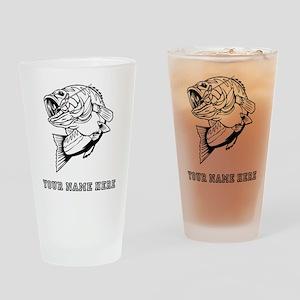Custom Bass Drinking Glass