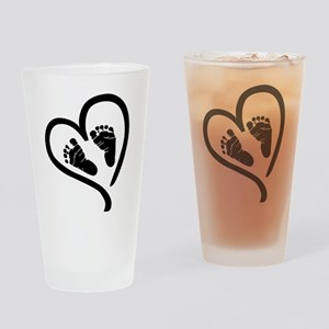 Baby Heart (Maternity) Drinking Glass