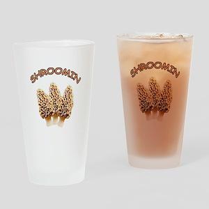 shroomin Drinking Glass