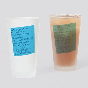 Grey's Anatomy: Sticky Note Drinking Glass