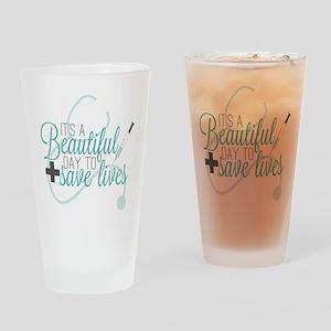 Grey's Anatomy: A Beautiful Day Drinking Glass