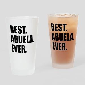 Best Abuela Ever Drinking Glass