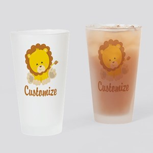 Custom Baby Lion Drinking Glass