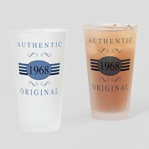 1968 Authentic Original Drinking Glass