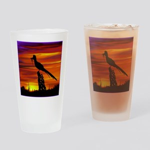 Roadrunner tp Drinking Glass