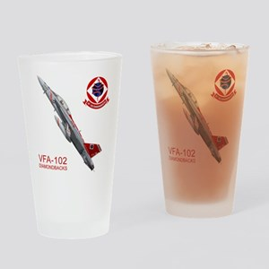 vfA102logo10x10_apparel copy Drinking Glass
