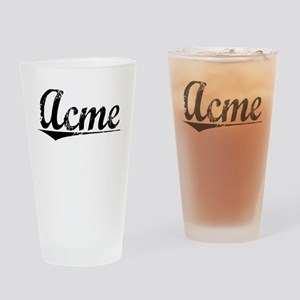 Acme, Vintage Drinking Glass