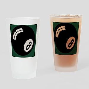 8-ball-toony-TIL Drinking Glass