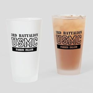 USMC - 3rd Battalion - Parris Island Drinking Glas