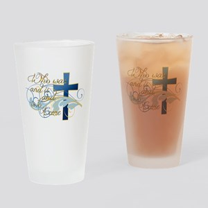 Who was and is and is to come Drinking Glass