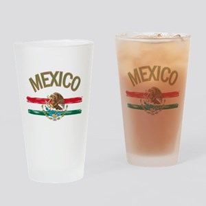 Mexican Mexico Flag Drinking Glass