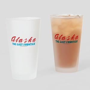 Alaska - Last frontier Drinking Glass