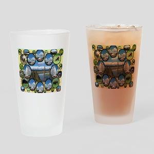 Yellowstone Park Pint Glass