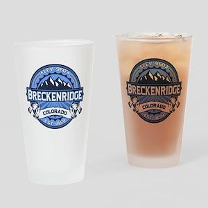 Breckenridge Blue Drinking Glass