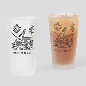 Whence Came You? Logo Drinking Glass