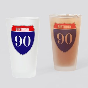 is90birth Drinking Glass