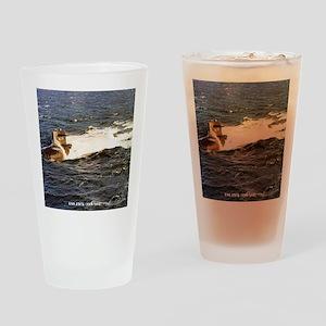 jack framed panel print Drinking Glass