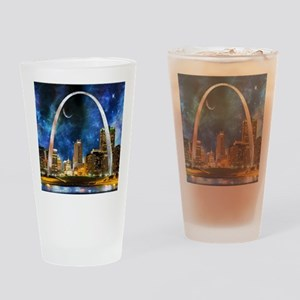 Spacey St. Louis Skyline Drinking Glass