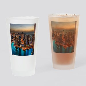 Dubai Skyline Drinking Glass