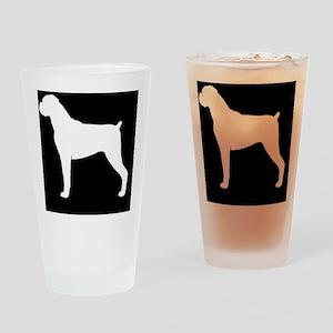 boxerhitch Drinking Glass