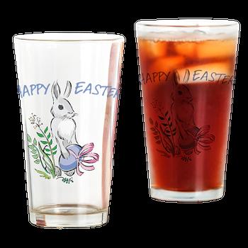 easter bunny beverage glasses