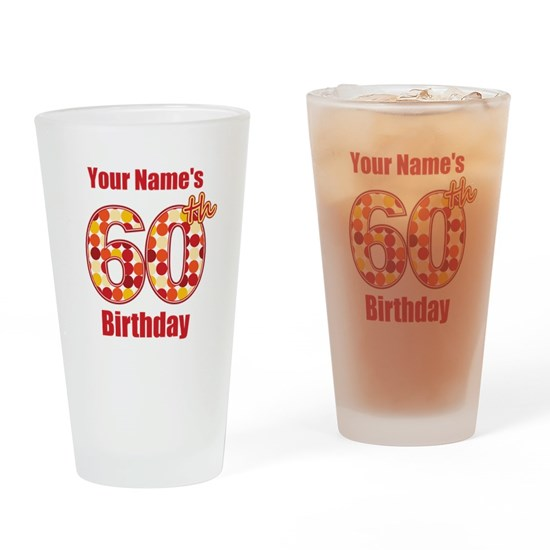 Happy 60th Birthday - Personalized!