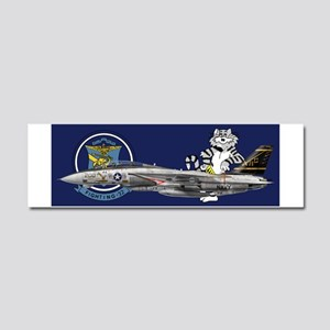 catCupvf32a Car Magnet 10 x 3