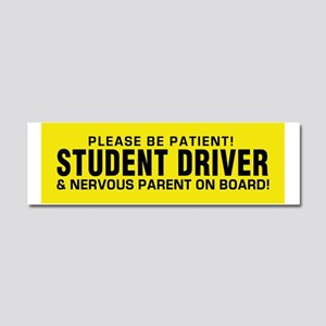 Student Driver  Parent on Board! Car Magnet 10 x 3
