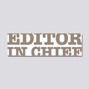 Editor in Chief Car Magnet 10 x 3