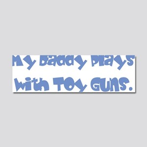 toy guns Car Magnet 10 x 3