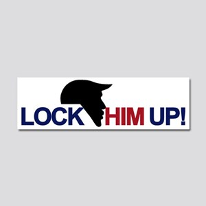 Lock Him Up Car Magnet 10 X 3