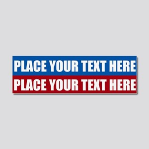 America Text Message Car Magnet 10 x 3