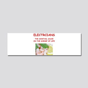 electrician Car Magnet 10 x 3