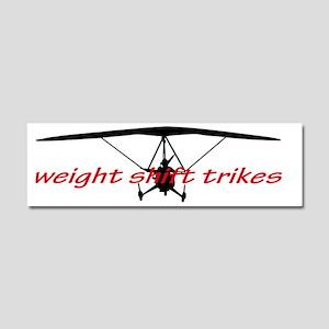 Ultralight Trike Car Magnets - CafePress