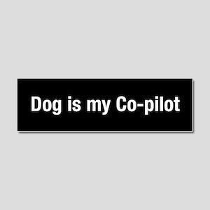 Dog Is My Co-Pilot Car Magnet 10 X 3
