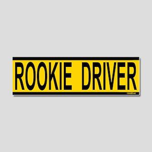 Rookie Driver Car Magnet 10 x 3