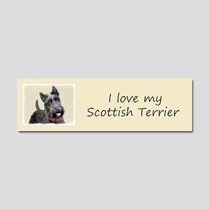 Scottish Terrier Car Magnet 10 x 3